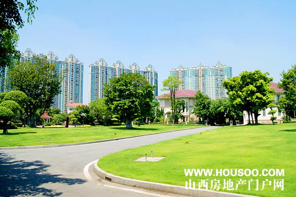 广州恒大御景半岛别墅区